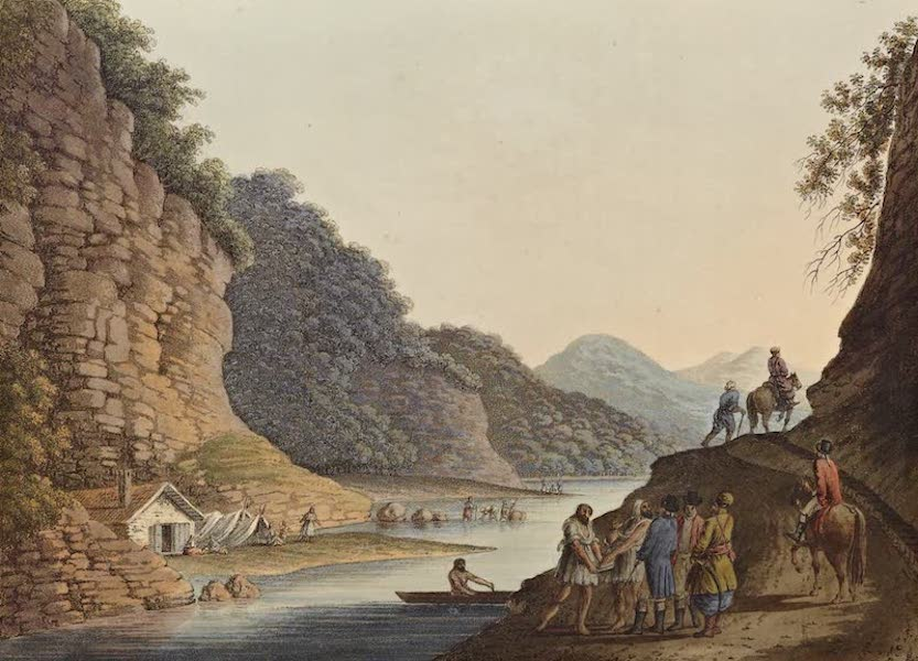 Views in the Ottoman Dominions - View on the Aluta (1810)