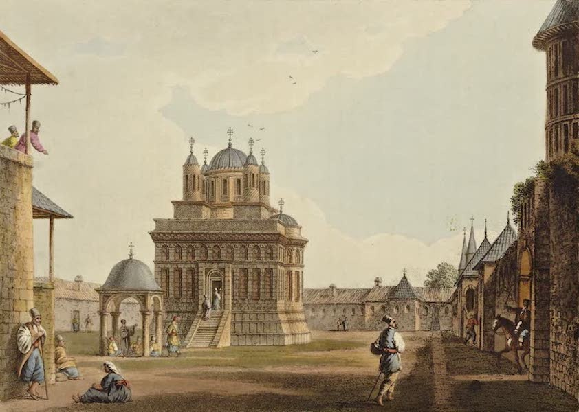 Views in the Ottoman Dominions - Church and Convent of St. Mary (1810)