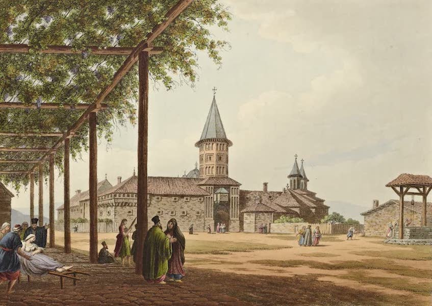 Views in the Ottoman Dominions - Entrance to the Convent of St. Mary (1810)