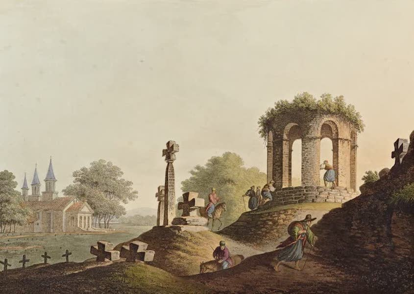 Views in the Ottoman Dominions - View near Bucharest (1810)