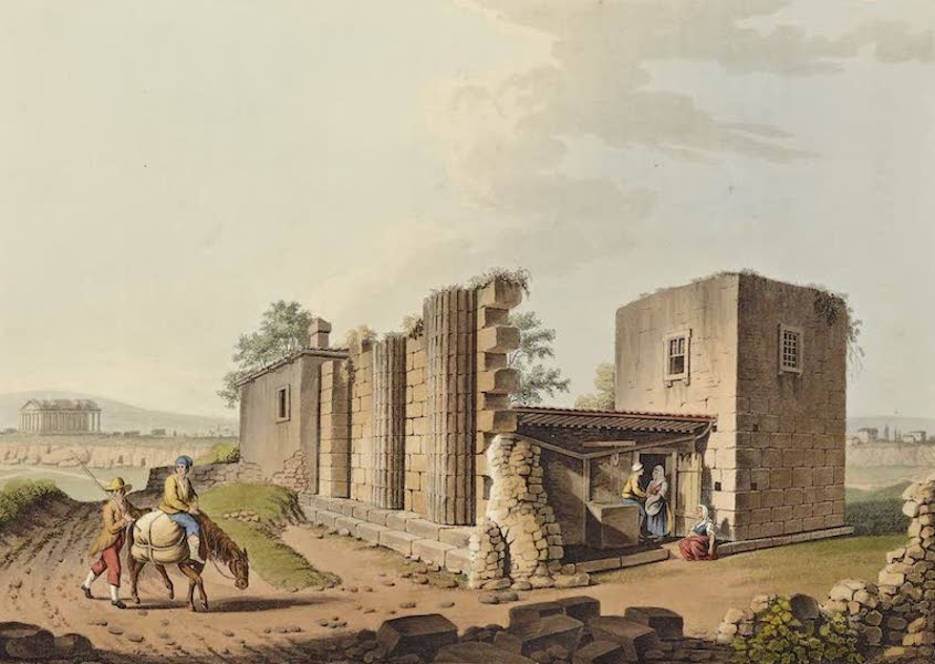 Views in the Ottoman Dominions - Ancient Temples at Agrigentum (1810)