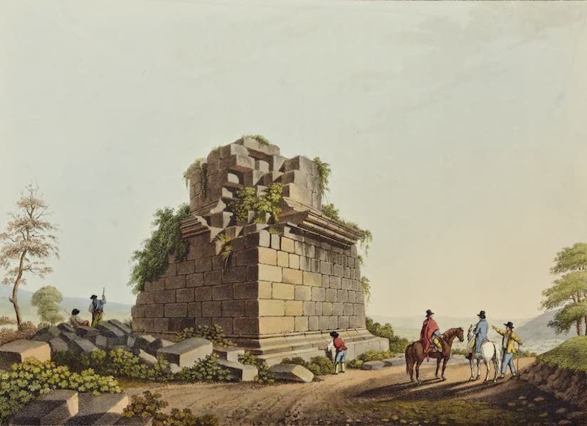 Views in the Ottoman Dominions - Base of a Colossal Column Near Syracuse (1810)
