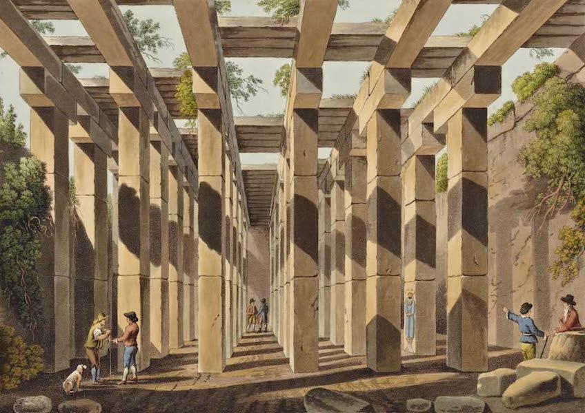Views in the Ottoman Dominions - Ancient Cisternin Val di Noto (1810)