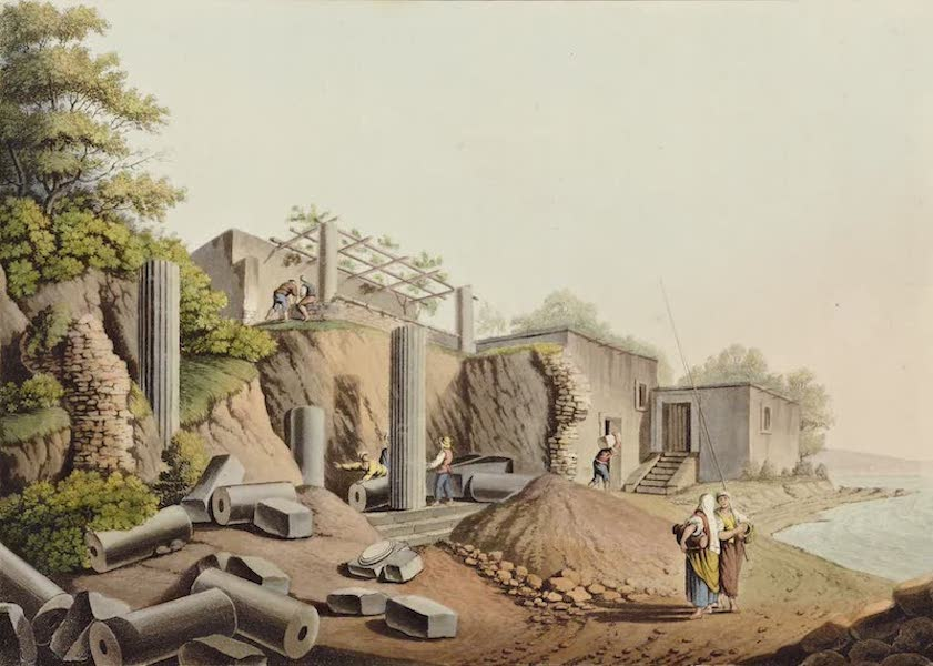 Views in the Ottoman Dominions - Ancient Temple in the Island of Salina (1810)