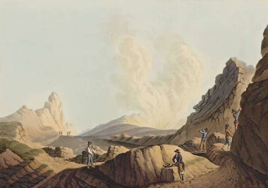 Views in the Ottoman Dominions - Crater in the Island of Stromboli (1810)