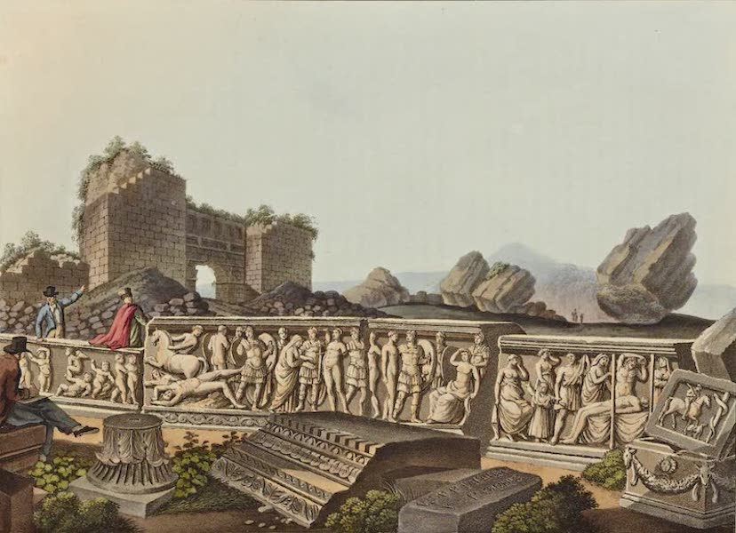 Views in the Ottoman Dominions - Fragments at Ephesus (1810)