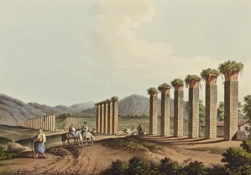 Views in the Ottoman Dominions - Aqueduct near Ephesus (1810)