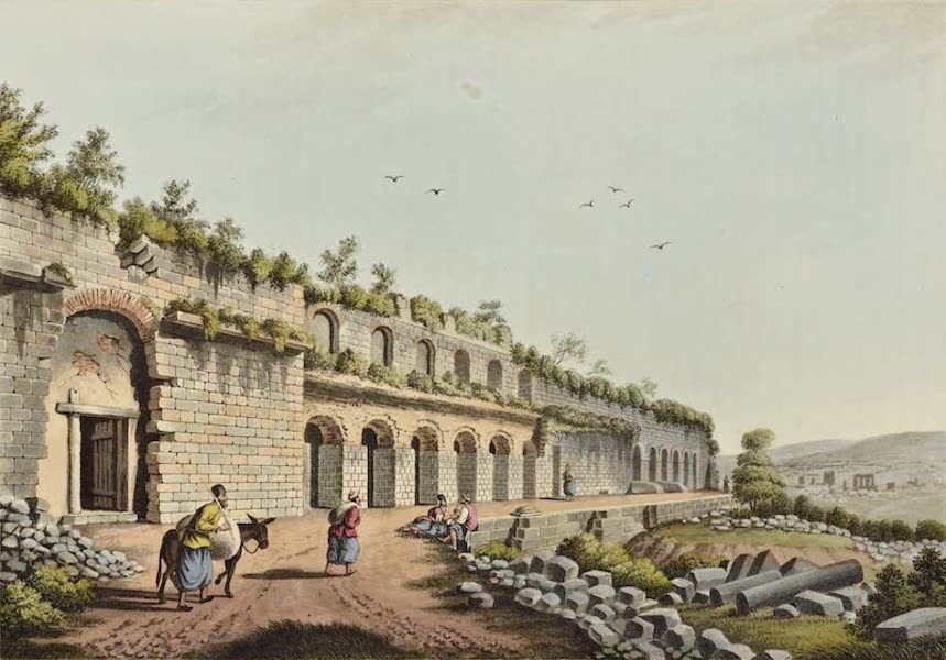 Views in the Ottoman Dominions - Stadium at Ephesus (1810)