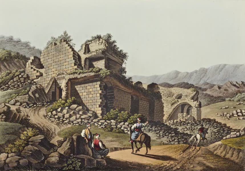 Views in the Ottoman Dominions - Theatre at Ephesus (1810)