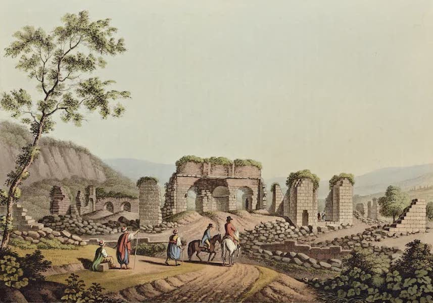 Views in the Ottoman Dominions - Ruins of the Temple of Diana at Ephesus (1810)