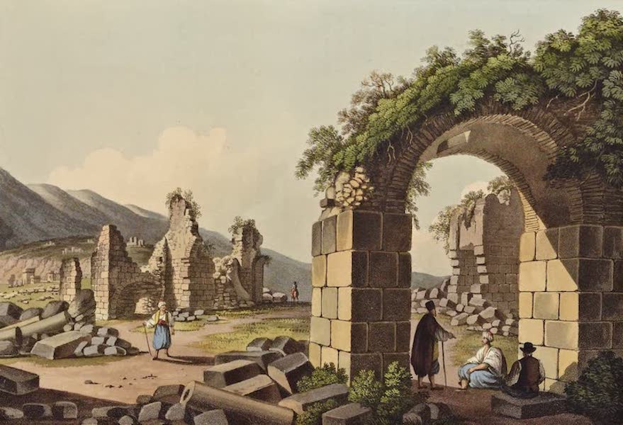 Views in the Ottoman Dominions - Ruins of the Baths at Ephesus (1810)