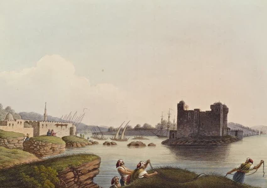 Views in the Ottoman Dominions - Port of Latachia (1810)