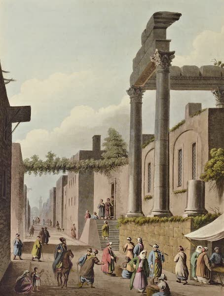 Views in the Ottoman Dominions - Mosque in Latachia No. 2 (1810)