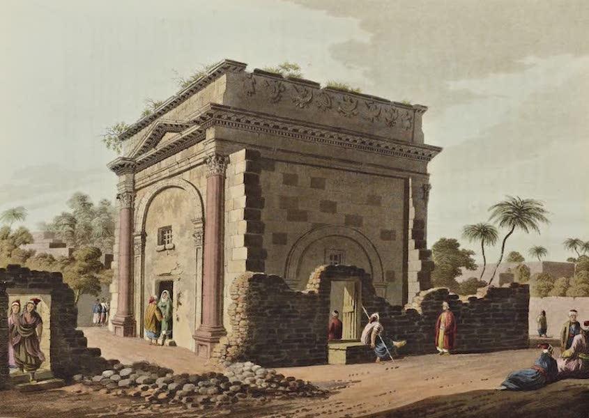 Views in the Ottoman Dominions - Triumphal Arch at Latachia (1810)