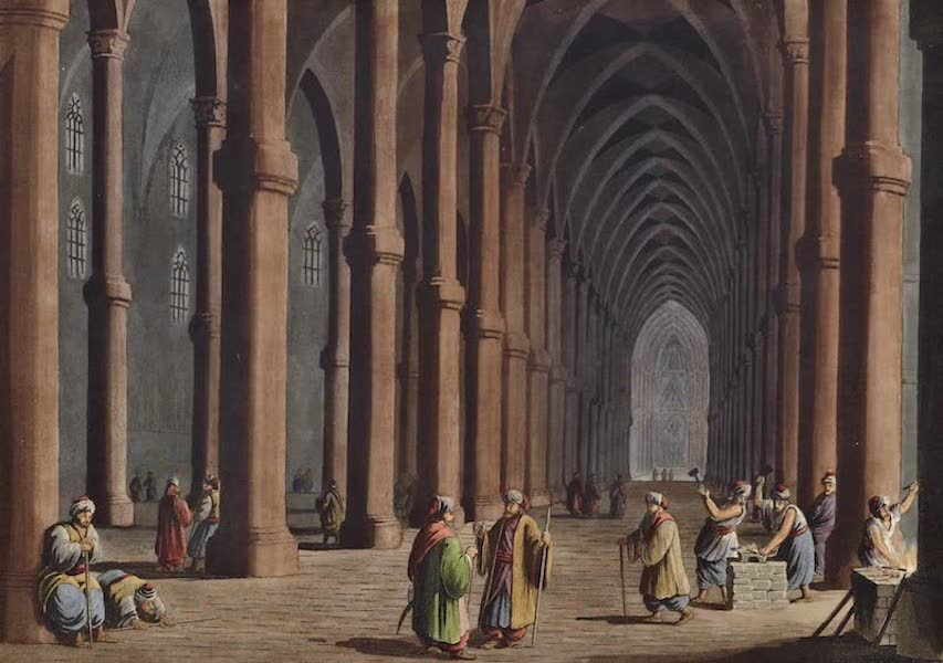Views in the Ottoman Dominions - Cathedral at Tortosa (1810)