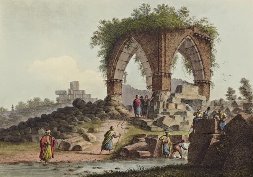 Views in the Ottoman Dominions - Fountain of Serpents (1810)