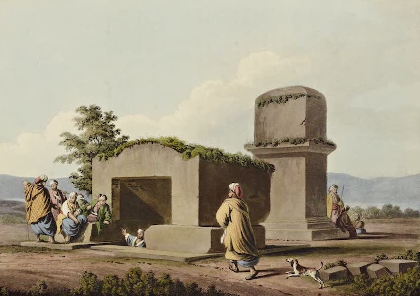 Views in the Ottoman Dominions - Monument on the Coast of Syria (1810)