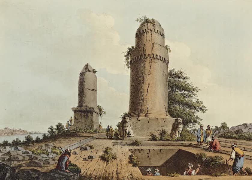 Views in the Ottoman Dominions - Monuments near Tortosa (1810)