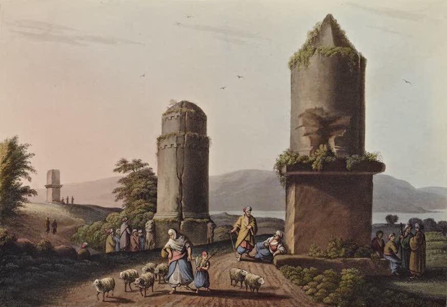 Views in the Ottoman Dominions - Monuments near Tortosa No. 2 (1810)