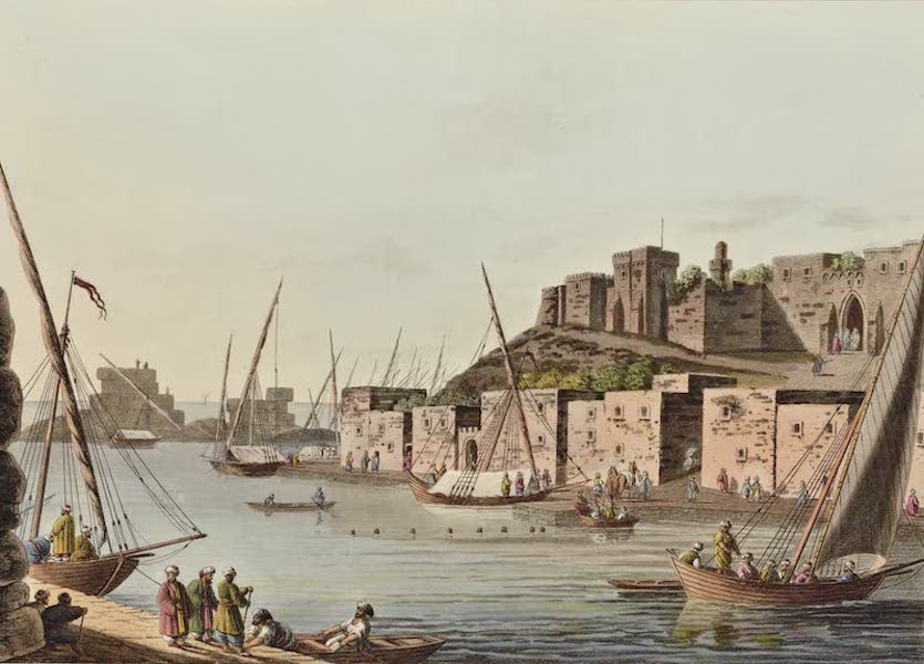 Views in the Ottoman Dominions - Castle in the Island of Tortosa (1810)