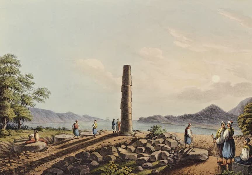 Views in the Ottoman Dominions - Ruins of the Temple of Juno in Samos (1810)
