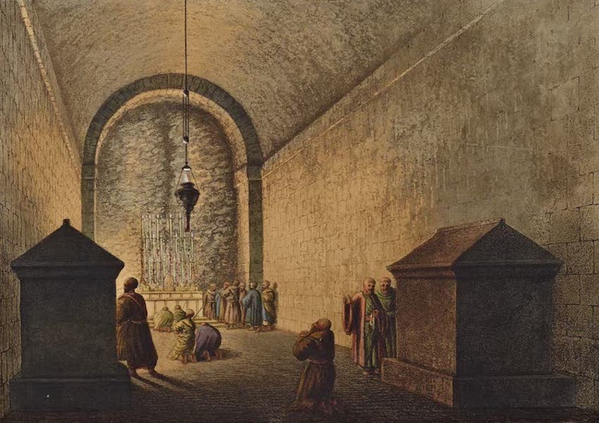 Views in the Ottoman Dominions - Chapel of Mount Calvary (1810)
