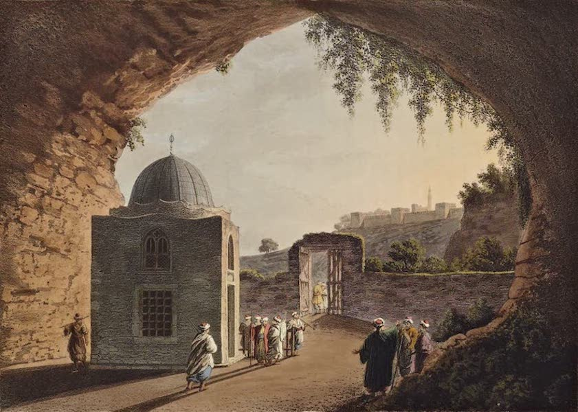 Views in the Ottoman Dominions - Tomb of Jeremiah (1810)