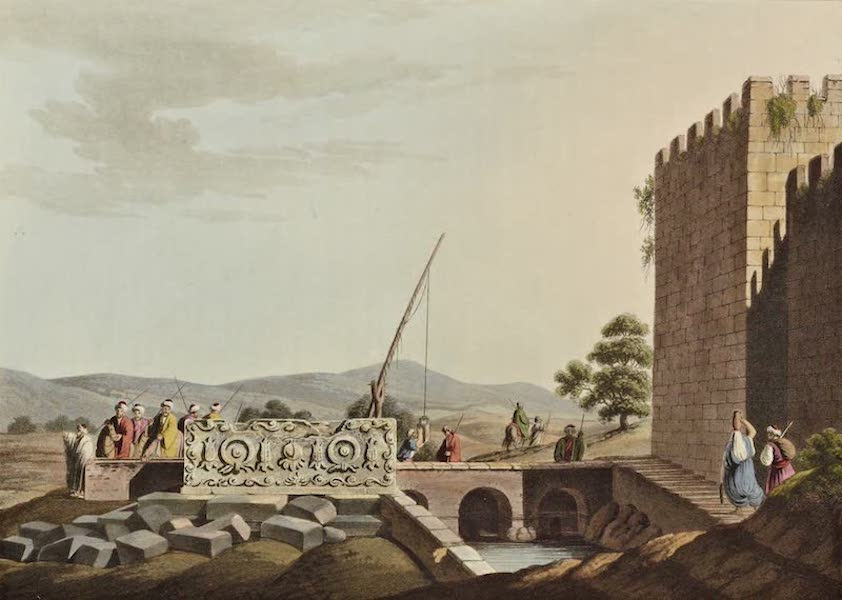 Views in the Ottoman Dominions - Sarcophagus from the Tombs of the Kings (1810)