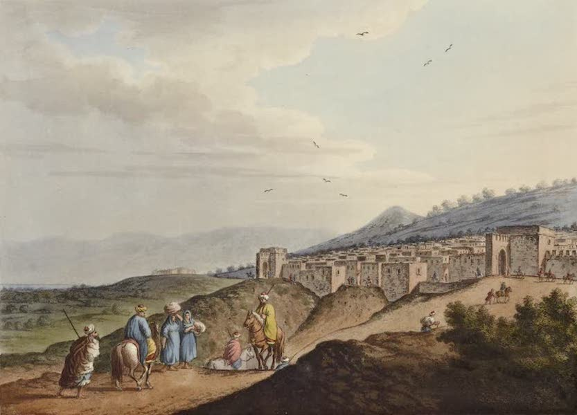 Views in the Ottoman Dominions - City of Bethlehem (1810)