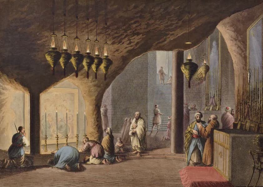 Views in the Ottoman Dominions - Grotto of the Nativity (1810)
