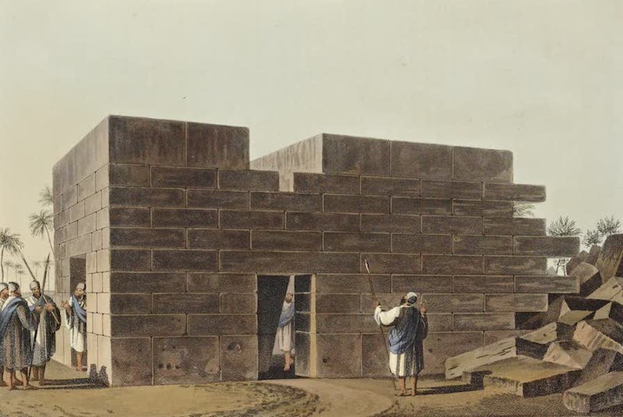 Views in the Ottoman Dominions - Temple of Jupiter Ammon in Libya (1810)