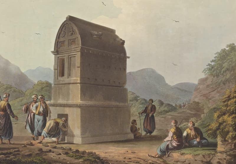 Views in the Ottoman Empire - Colossal Sarcophagis near Castle Rosso (1803)