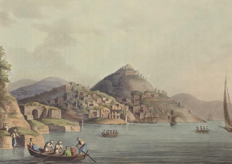 Views in the Ottoman Empire - Principal Entrance of the Harbour of Cacamo (1803)