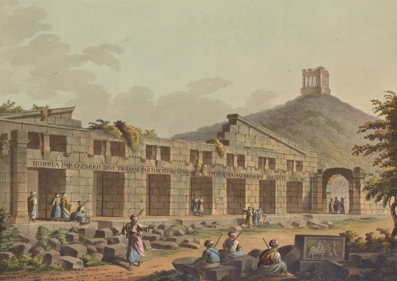 Views in the Ottoman Empire - Ancient Granary at Cacamo (1803)