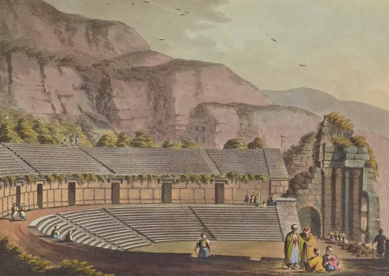 Views in the Ottoman Empire - An ancient Theatre at Cacamo (1803)