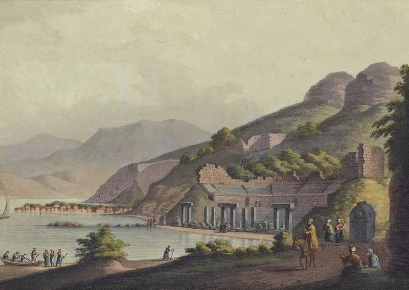 Views in the Ottoman Empire - Part of the Harbour of Macri (1803)