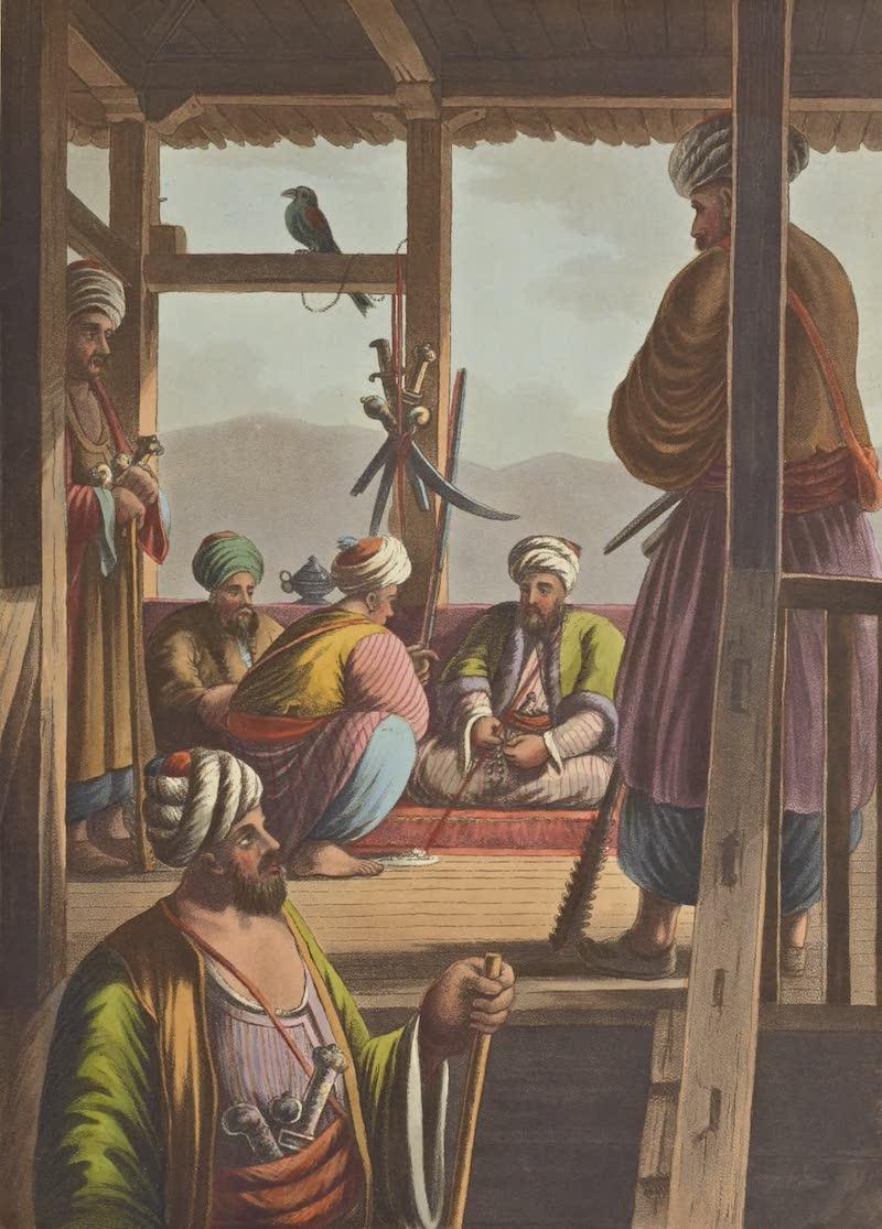 Views in the Ottoman Empire - A Caramanian Waiwode (1803)