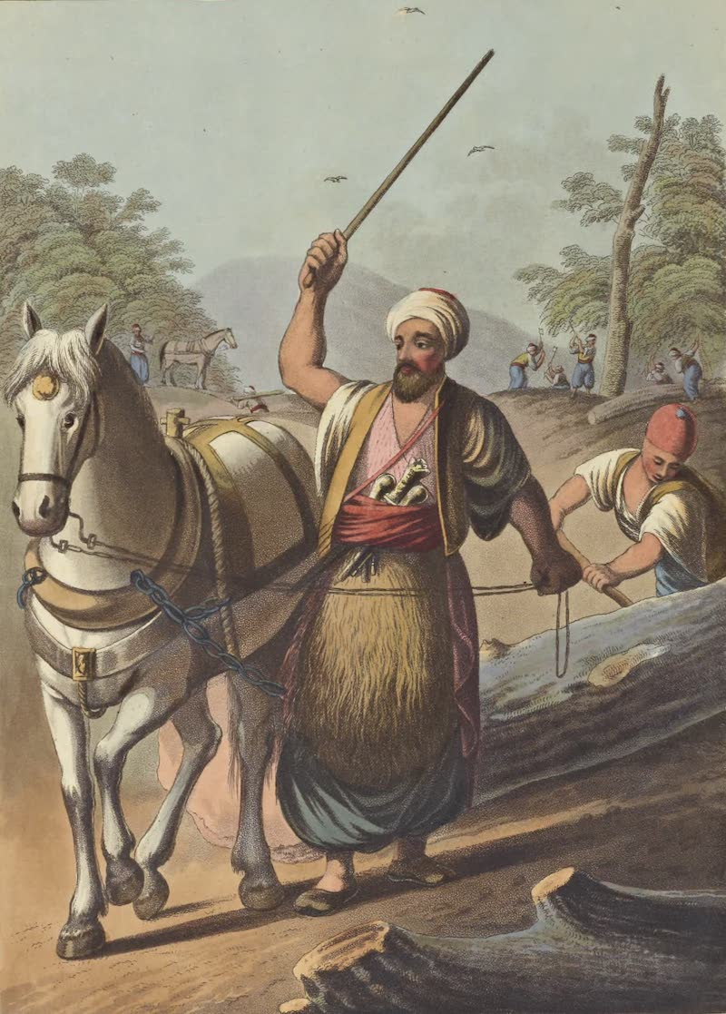 Views in the Ottoman Empire - Caramanian Woodcutters (1803)