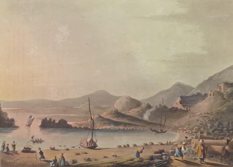Views in the Ottoman Empire - Harbour of the ancient Gnidus (1803)