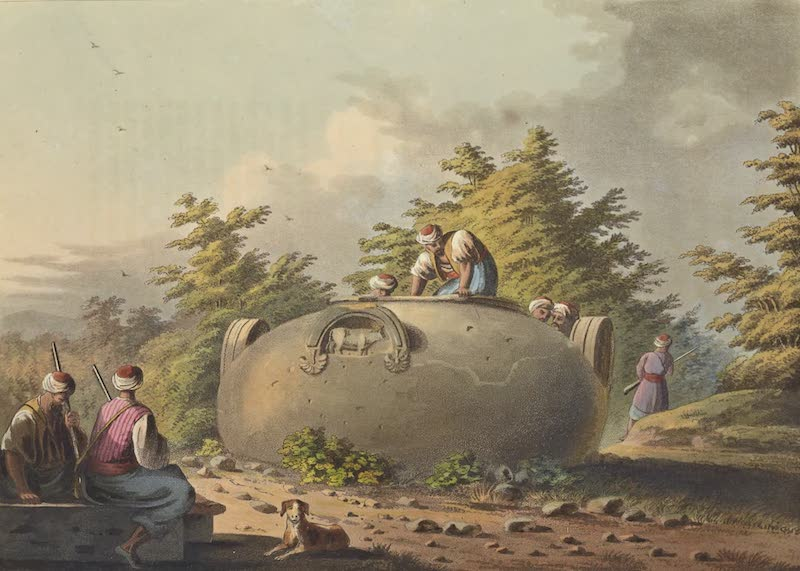 Views in the Ottoman Empire - A Colossal Vase near Limisso in Cyprus (1803)