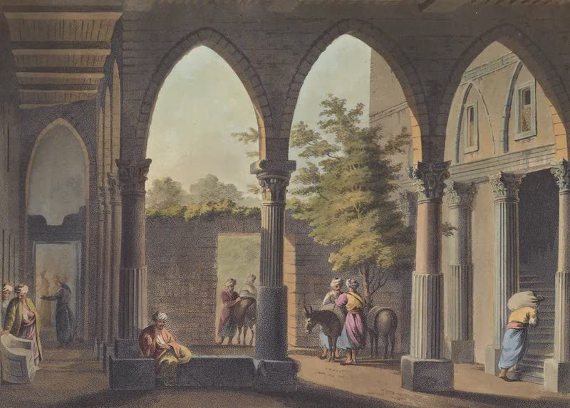 Views in the Ottoman Empire - Antique Fragments at Limisso (1803)