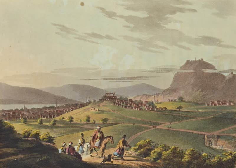 Views in the Ottoman Empire - The City of Corinth (1803)