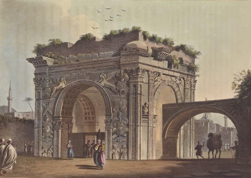 Views in the Ottoman Empire - Triumphal Arch of Tripoli in Barbary (1803)