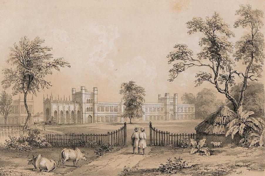 Views of Calcutta and its Environs - The Bishop's College (1848)