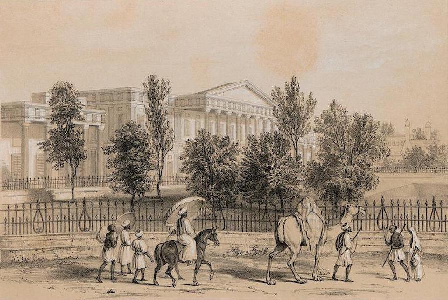 Views of Calcutta and its Environs - The Mahommedan College (1848)