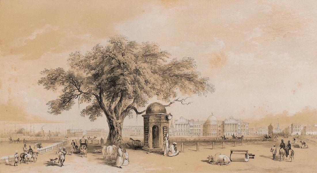 Views of Calcutta and its Environs - Calcutta from the Old Course (1848)