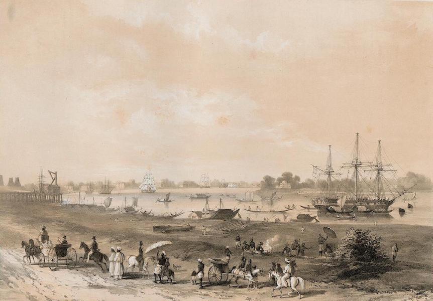 Views of Calcutta and its Environs - Garden Reach (1848)