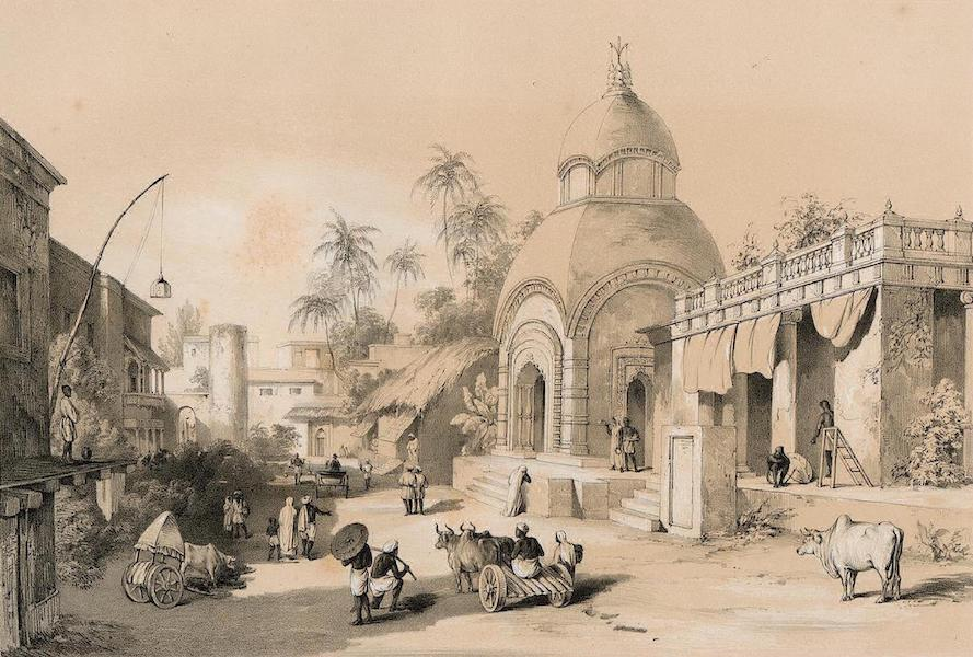 Views of Calcutta and its Environs - View near the Circular Road (1848)