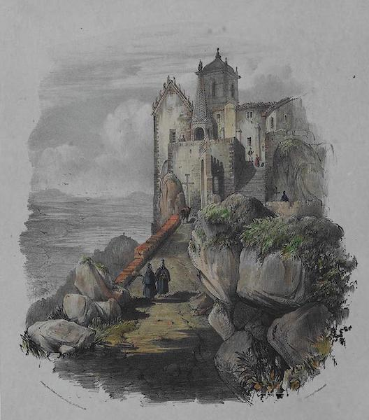 Views of Cintra - Entrance to the Penna (1830)