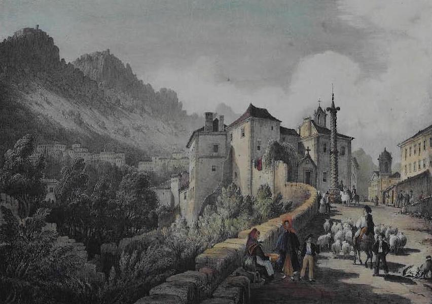 Views of Cintra - Cintra from the East (1830)